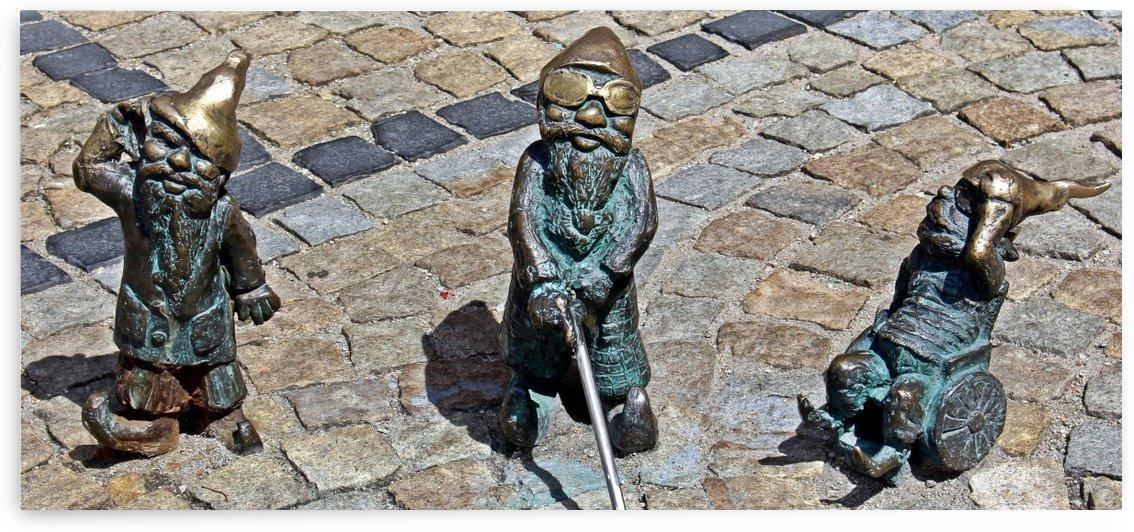 Dwarfs, three friends by Mariusz Wojcik