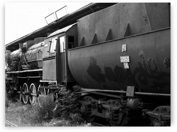 Old locomotive by Mariusz Wojcik