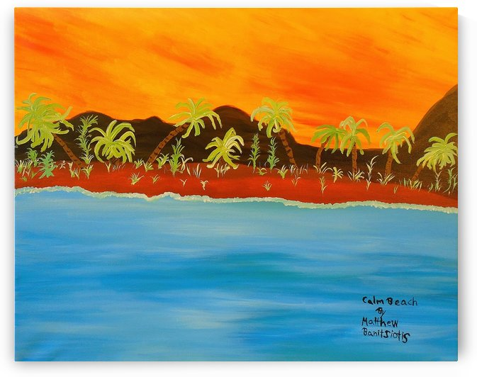 4_004 calm_beach R by Matthew Banitsiotis