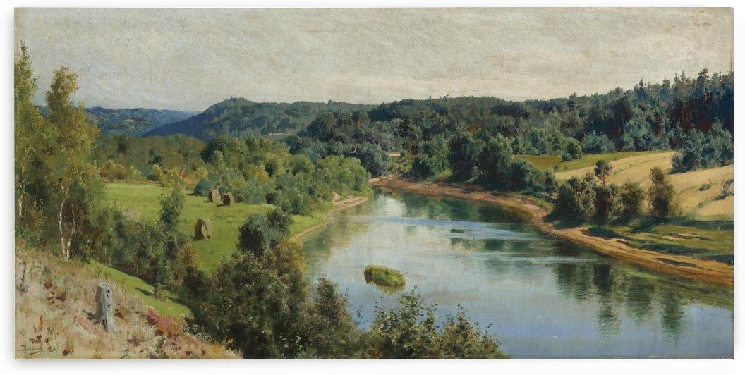 Oyat River by Vasili Dmitrievich Polenov