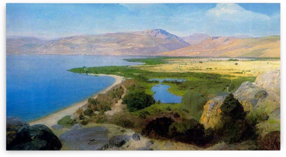 Tiberias Lake, Palestine by Vasili Dmitrievich Polenov