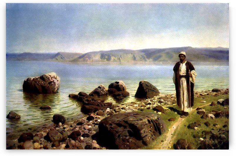 At the Sea of Tiberias by Vasili Dmitrievich Polenov