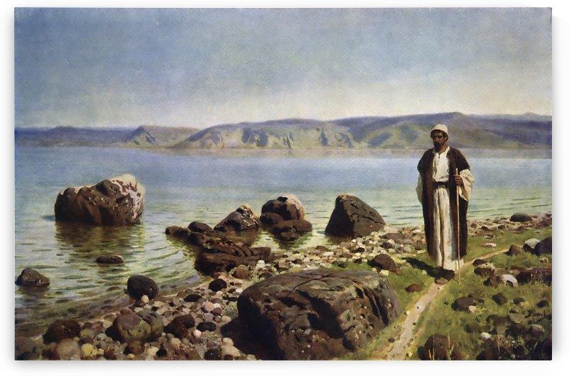 At the Genisaret Lake by Vasili Dmitrievich Polenov