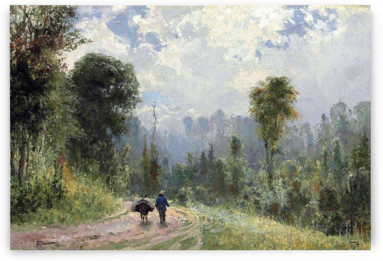 Forest pathway by Vasili Dmitrievich Polenov