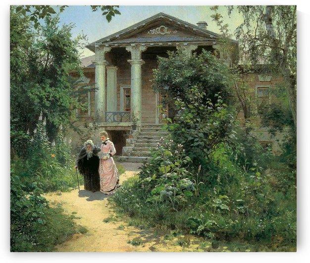 Grandmother's garden, 1879 by Vasili Dmitrievich Polenov