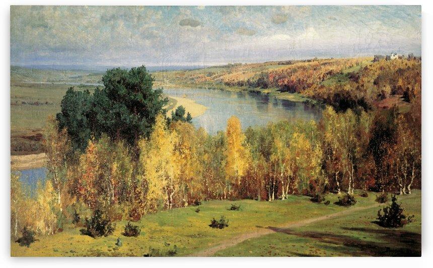 Golden Autumn, 1893 by Vasili Dmitrievich Polenov