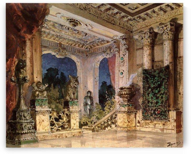 Hall in the Magic Castle by Vasili Dmitrievich Polenov