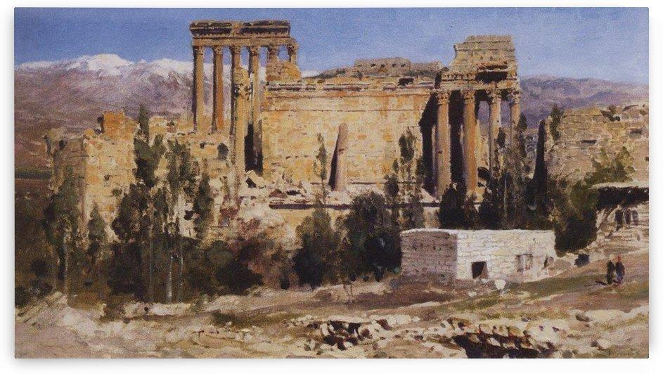 Baalbek - The Temple of Jupiter, 1882 by Vasili Dmitrievich Polenov