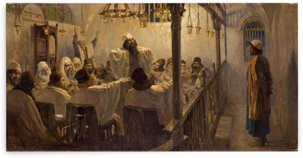 Christ and the Sinner by Vasili Dmitrievich Polenov
