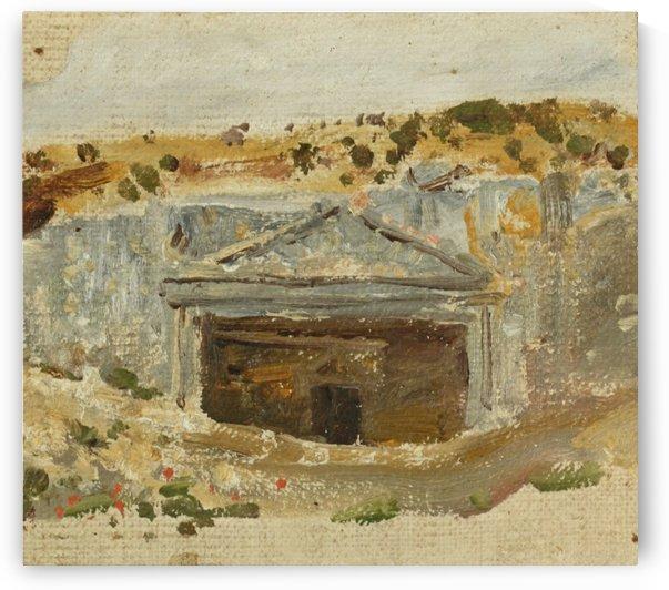 The Hut by Vasili Dmitrievich Polenov