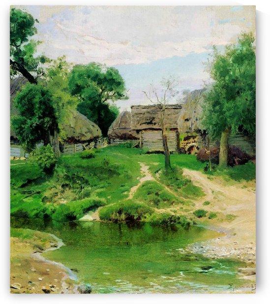 Turgenevo Village, 1885 by Vasili Dmitrievich Polenov