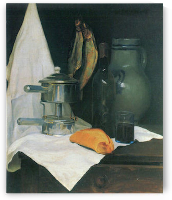 Still Life with Herrings by Felix Vallotton by Felix Vallotton