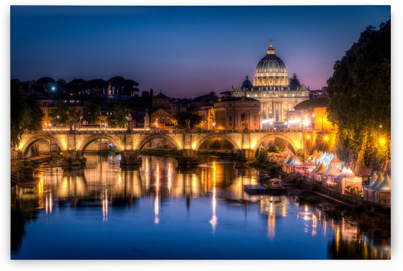 Sunset in Rome by Andrea Spallanzani