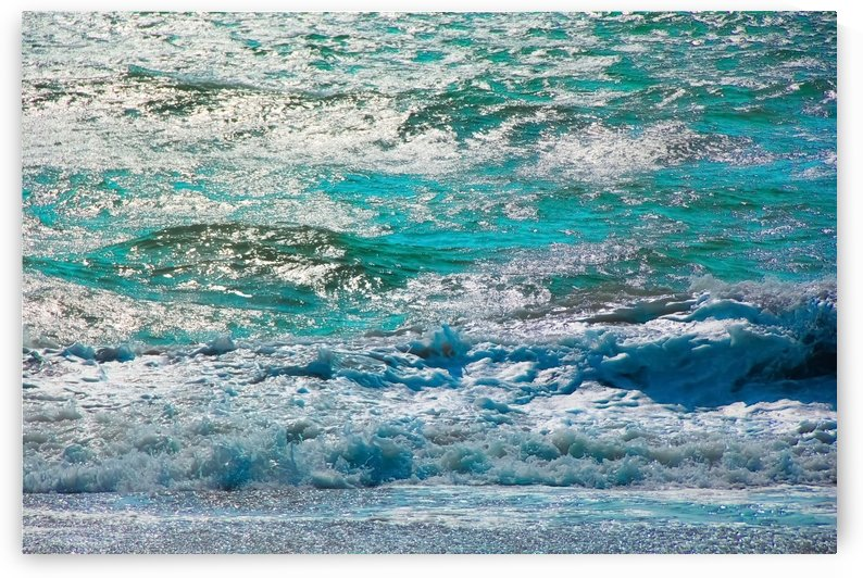 blue ocean wave texture abstract background by TimmyLA