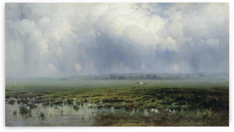 A swamp by Konstantin Yakovlevich Kryzhitsky