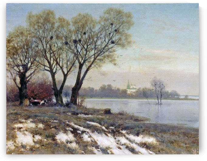 Early Spring by Konstantin Yakovlevich Kryzhitsky