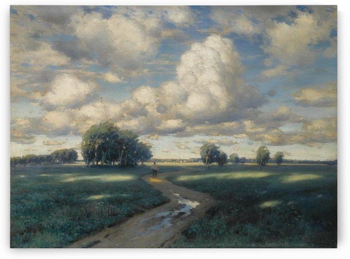 A windy day by Konstantin Yakovlevich Kryzhitsky