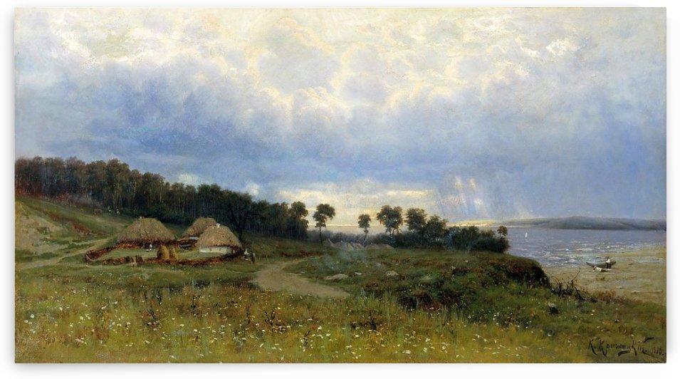 Before the rain by Konstantin Yakovlevich Kryzhitsky