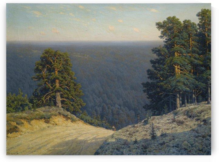 Russian landscape by Konstantin Yakovlevich Kryzhitsky