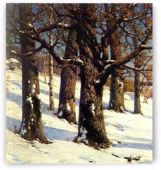 Oaks, 1884 by Konstantin Yakovlevich Kryzhitsky