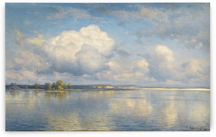 The lake by Konstantin Yakovlevich Kryzhitsky