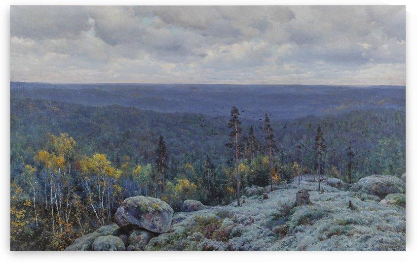 Woodland landscape, 1898 by Konstantin Yakovlevich Kryzhitsky