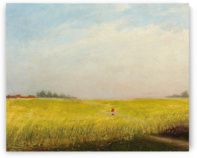 Harvest by Konstantin Yakovlevich Kryzhitsky