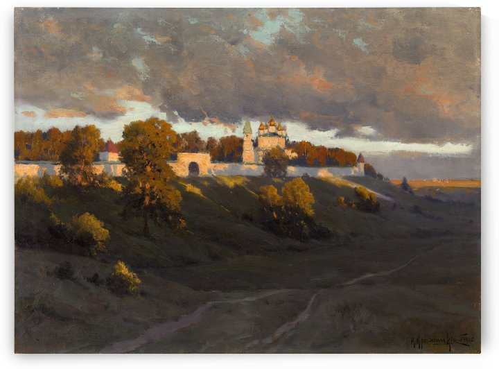 Pechersky Ascension Monastery, Nizhny Novgorod by Konstantin Yakovlevich Kryzhitsky