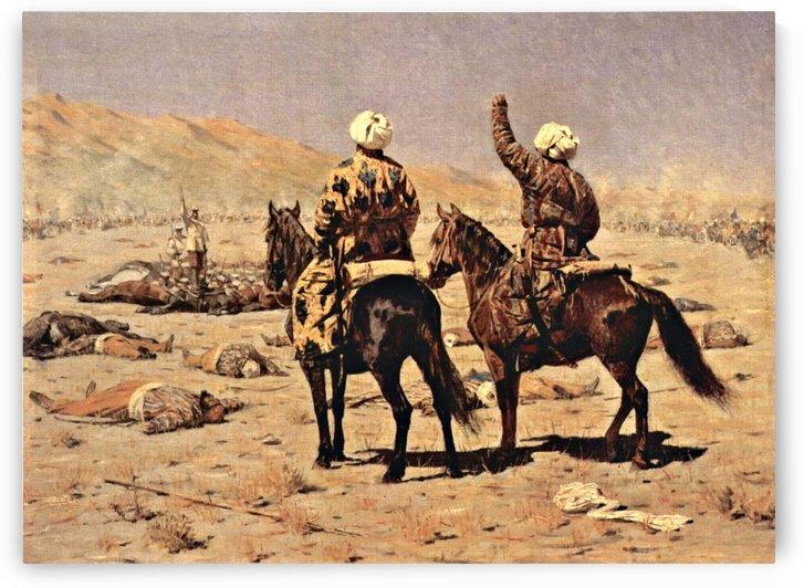 About the war, 1873 by Vasily Vasilyevich Vereshchagin