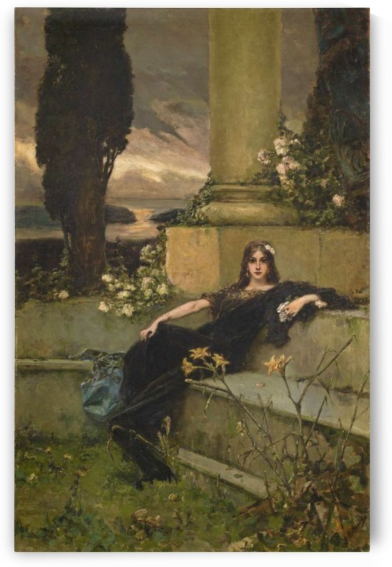 Silence of the afternoon, 1900 by Vasili Alexandrovich Wilhelm Kotarbinsky