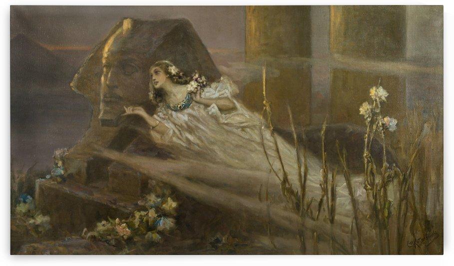 The Nile Mist by Vasili Alexandrovich Wilhelm Kotarbinsky