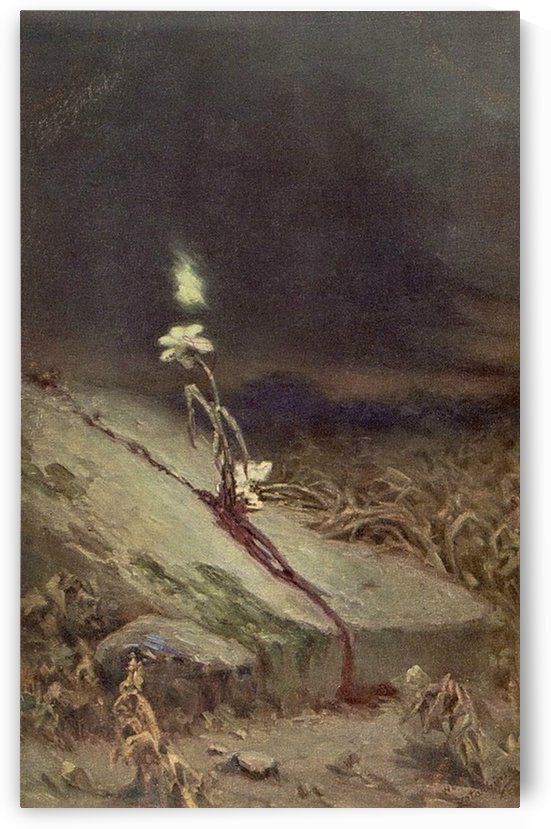 Grave of a suicide victim, 1900 by Vasili Alexandrovich Wilhelm Kotarbinsky