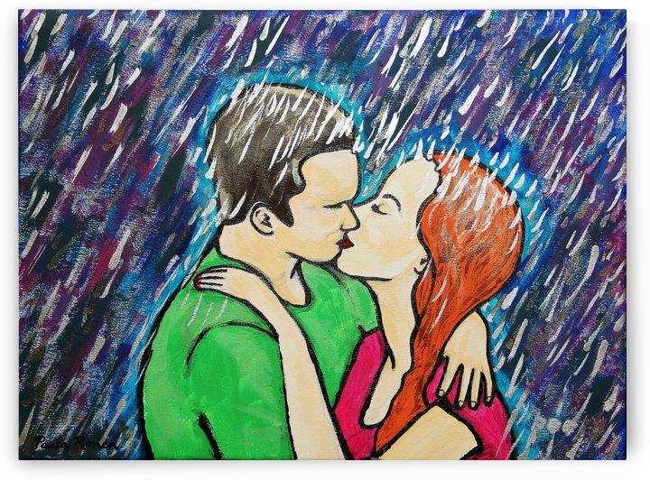 beso bajo la lluvia Ori by Paula Valeria Fridman