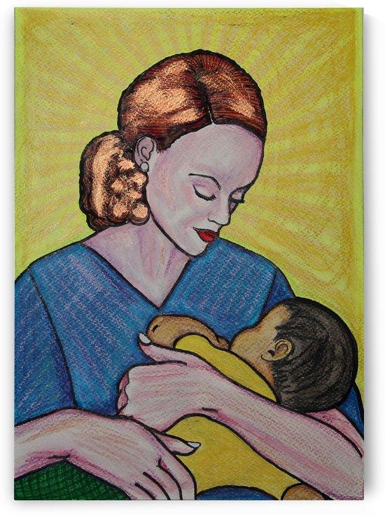 Enfermera y bebe Ori by Paula Valeria Fridman