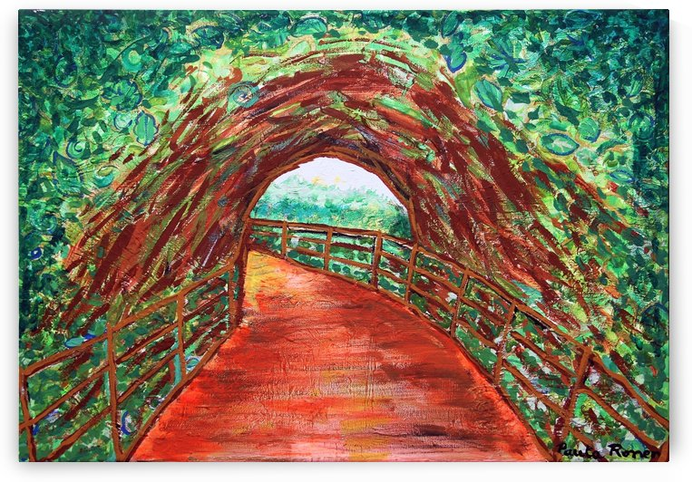 Puente tunel ori by Paula Valeria Fridman