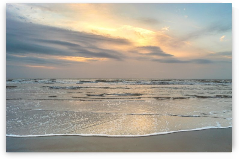 Sunrise at Butler Beach  by Melody Rossi