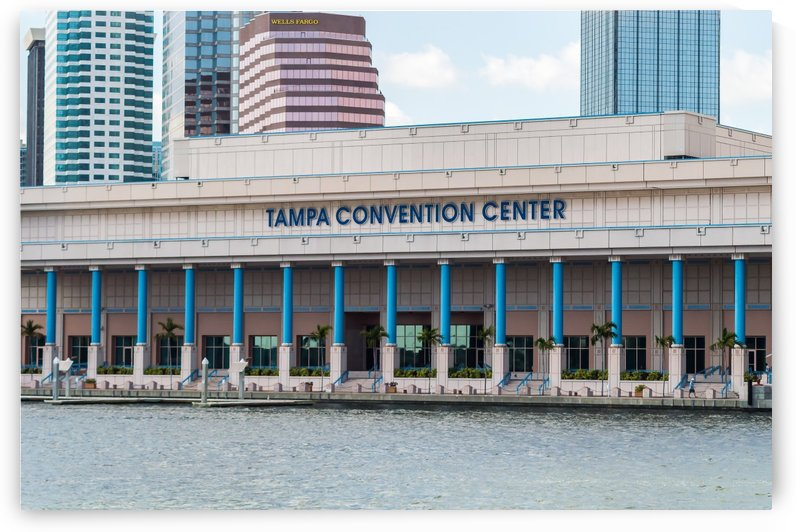 Tampa Convention Center  by Melody Rossi