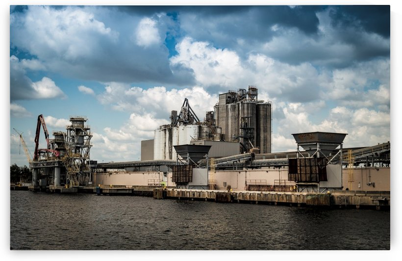 Tampa Bay Industrial HDR by Melody Rossi