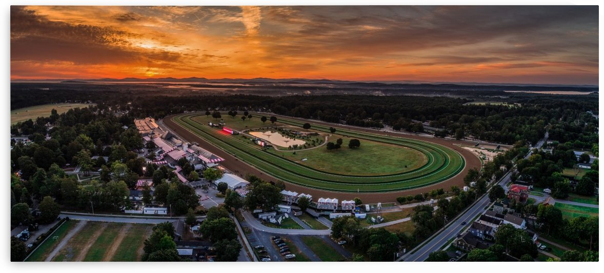 Sunrise (Saratoga Race Course) by Josh Stephen