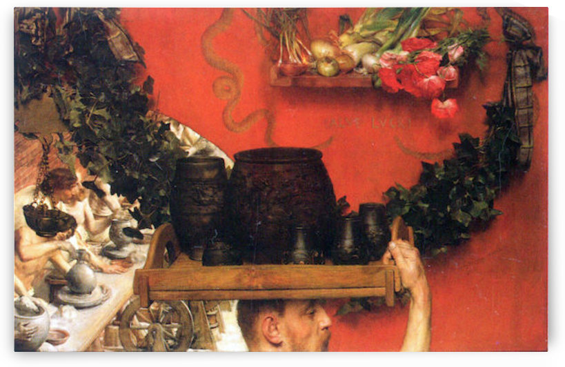 The Roman pottery in Britain by Alma-Tadema by Alma-Tadema