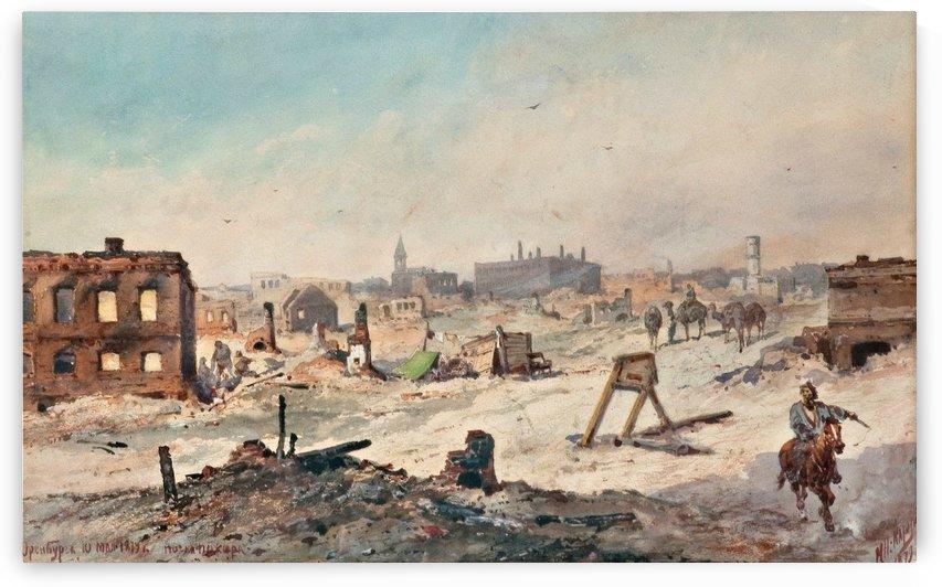 After the Fire by Nikolai Nikolaevich Karazin