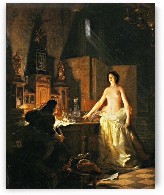 Mademoiselle de Maupin by Jean Jules Antoine Lecomte du Nouy