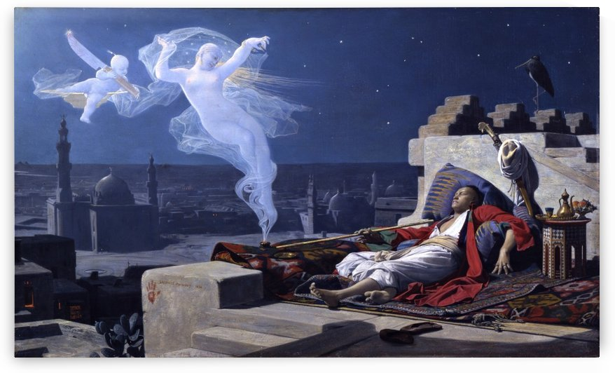 The dream of a Eunuch by Jean Jules Antoine Lecomte du Nouy