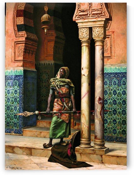 The Nubian guard, 1896 by Ludwig Deutsch