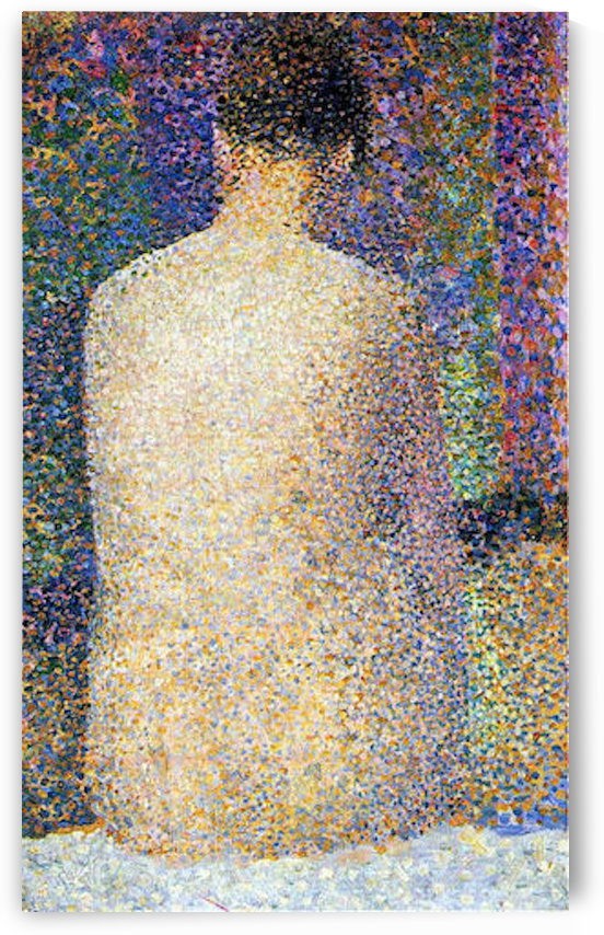 Study of a model 2 by Seurat by Seurat