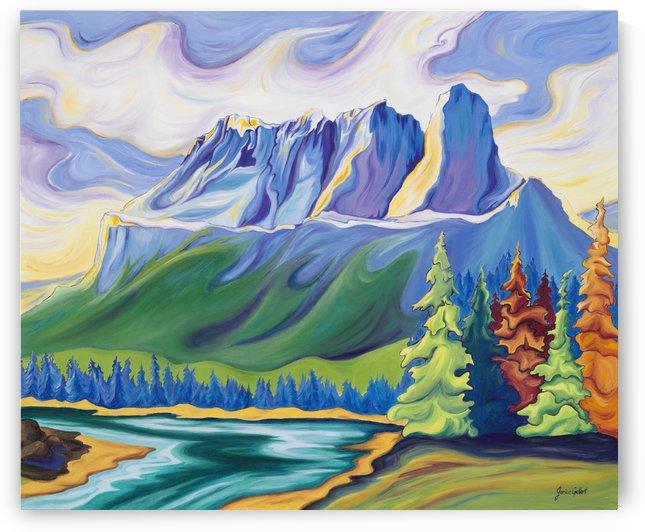 Castle Mountain Beauty by Janice Gallant