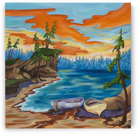 Evening Cove by Janice Gallant