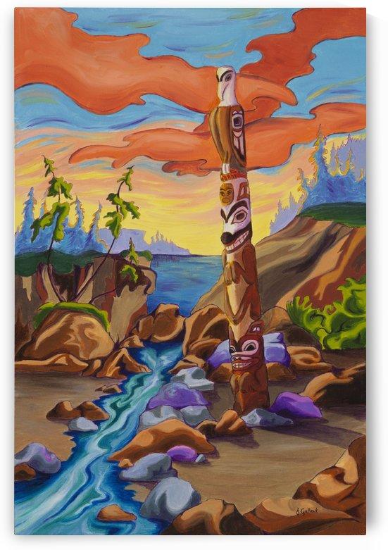 Haida Totem by Janice Gallant