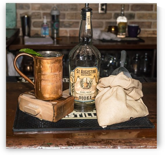Saint Augustine Distillery Bar by Melody Rossi