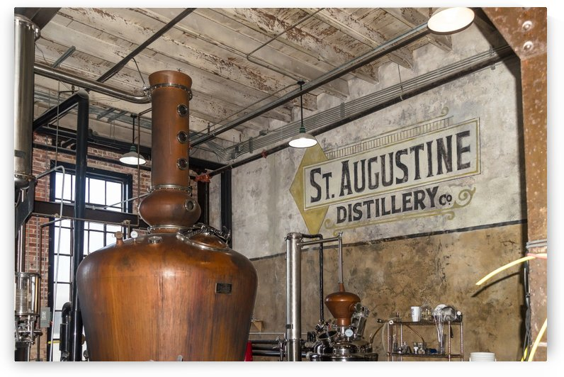 Saint Augustine Distillery by Melody Rossi